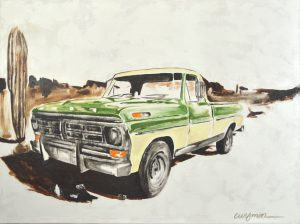 Recollection Painting Series - Del Curfman
