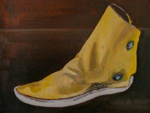 Beyond Footsteps Painting Series 2017 -Del Cufman
